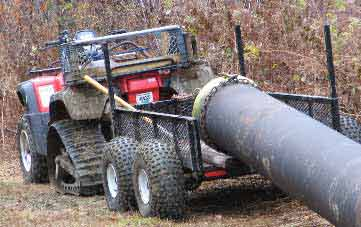 Planning To Build An Atv Log Hauler In Sawmills And Milling