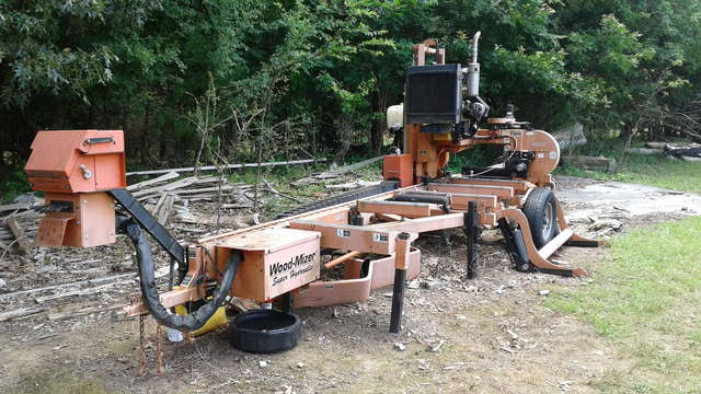 Woodmizer Sawmill For Sale >> Sold Used Woodmizer Lt40 Super 40 For Sale Sold In For Sale