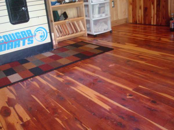E R Cedar Floor In Sawmills And Milling