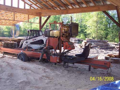 Woodmizer LT40 Super hydraulic 51 hp CAT diesel, Edger