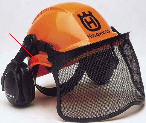 f0a6aa0b I like a hardhat that is curved to allow room for the hearing protection.  Also one that you can get parts for.
