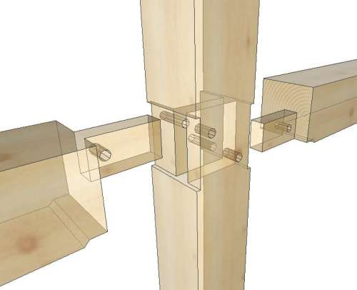 Spline Joint Drawing? in Timber Framing/Log construction
