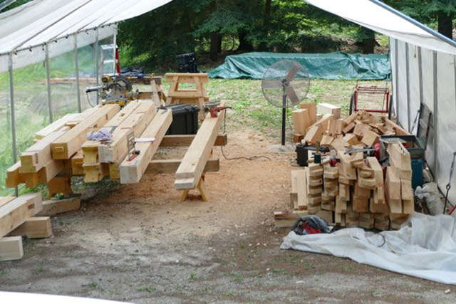 Timber framing workshop event 8/5/17 in Souther NH | Classes