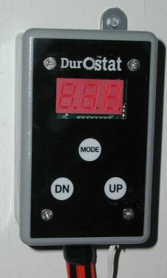 Durostat™ portable waterproof prewired thermostat on sale.
