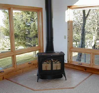 For our great room, have a Defiant Vermont Castings, with catalytic  converter...Heats well, and wood lasts a long time. - Favorite Wood Stoves