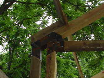 They don't have to be Straight in Timber Framing/Log construction