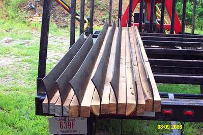 New water bar design in Forestry and Logging