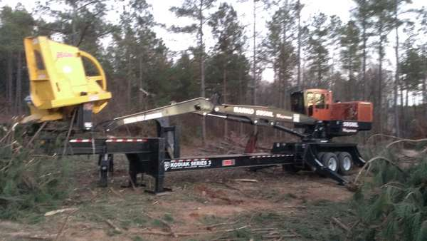 Delimber's - in Forestry and Logging