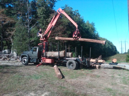 Prentice BC log loader specs in Forestry and Logging