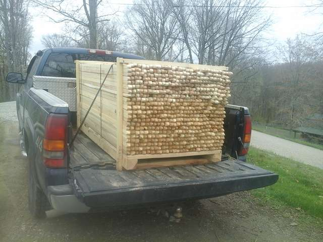 $18 90 bf for rough cut poplar in Sawmills and Milling