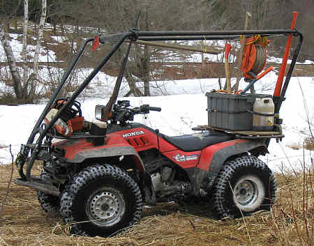 I need some help with Honda 350 four wheeler