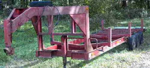 reason for selling is that i have another trailer and since i have only one truck i dont use this anymore - Mobile Home Trailer Frames For Sale