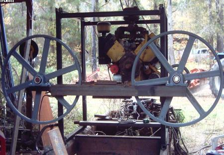 how to build a sawmill with a bandsaw