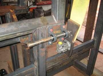 blueprints plans for wood processor