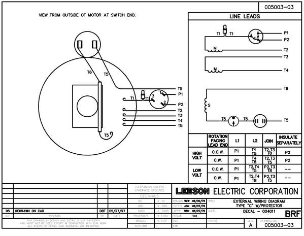 Leeson_110088_00 leeson wiring diagram diagram wiring diagrams for diy car repairs Lincoln Electric Motor Wiring Diagram at mifinder.co