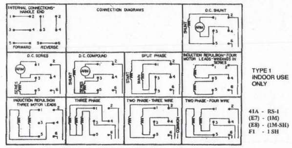 RS1_diagram need help wiring 1hp motor to a drum switch leeson wiring diagram at gsmx.co