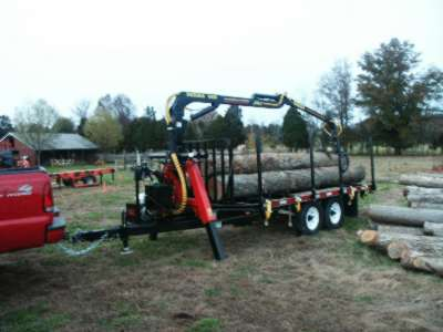 Grapple Loader Trailers Who Has One And What Brand In Forestry And