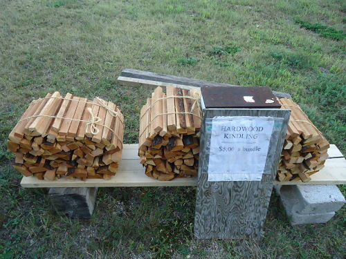 how to sell firewood fast