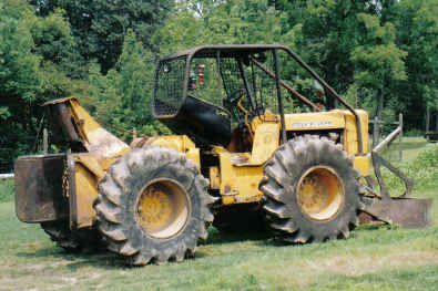 Deere 440 In Forestry And Logging. Here Is Frick's Skidder Before A Fresh Coat Of Paint Logged. John Deere. John Deere Log Skidder Parts Diagram At Scoala.co