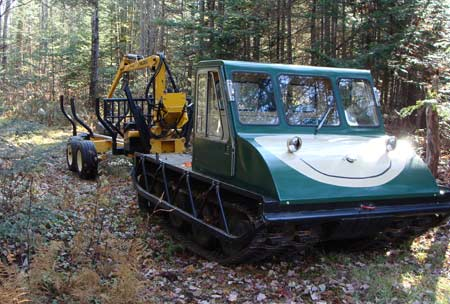 Making a Bombardier log skidder in Forestry and Logging