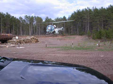 Aerial Seeding in Forestry and Logging