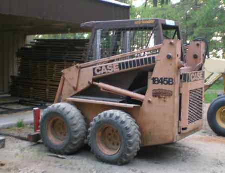 Backhoes in Sawmills and Milling