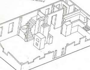 Admirable U Shaped Stair Layout Inspirational Interior Design Netriciaus