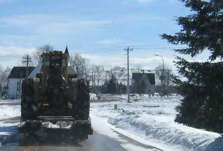 How do you transport your log skidder? in Forestry and Logging