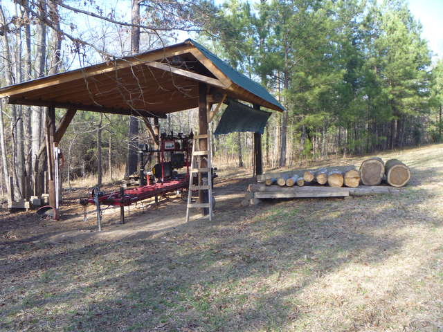 Sawmill shed tips in Sawmills and Milling