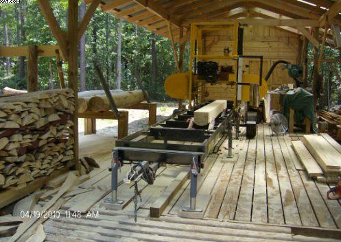 Sawmill Shed Design in General Board