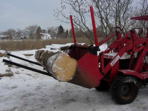 Forks to their Loader Bucket