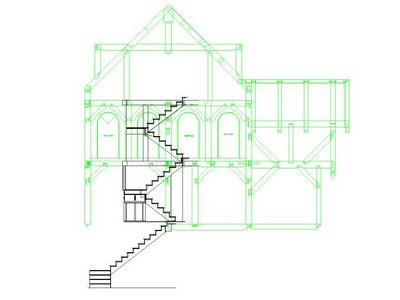 U shaped stair layout? in Timber Framing/Log construction