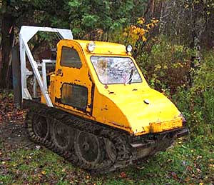 Tracked skidders, again in Forestry and Logging