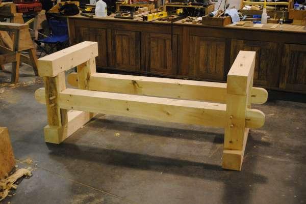 Timber Framing Furniture in Timber Framing/Log construction