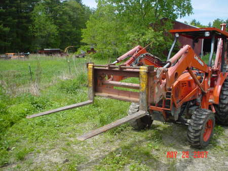 bucket clamp front end loader grapple or top clamp