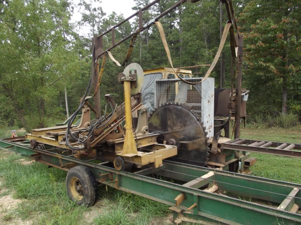 Used Sawmills For Sale >> Circle Sawmill Sold In For Sale