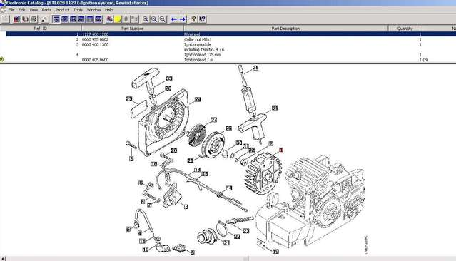 MS390 / MS290 ignition wiring in Chainsaws on stihl chainsaw parts list, stihl chainsaw gas tank vent, stihl ms250 wiring diagram, stihl chainsaw parts breakdown, stihl chainsaw schematic diagrams,