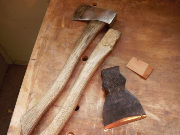 A tutorial - handshaping an axe handle in General Woodworking
