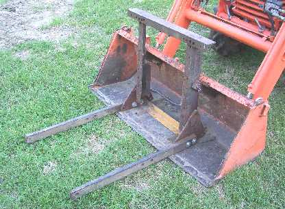 Has Anyone Converted or Added on Forks to their Loader Bucket or Otherwise in General Board