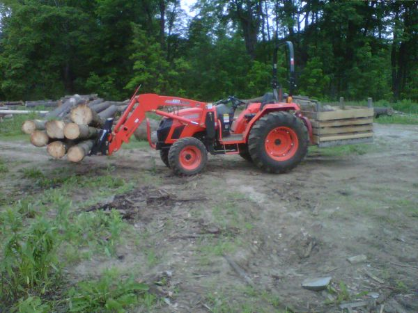 3 point fork lift?? in Sawmills and Milling
