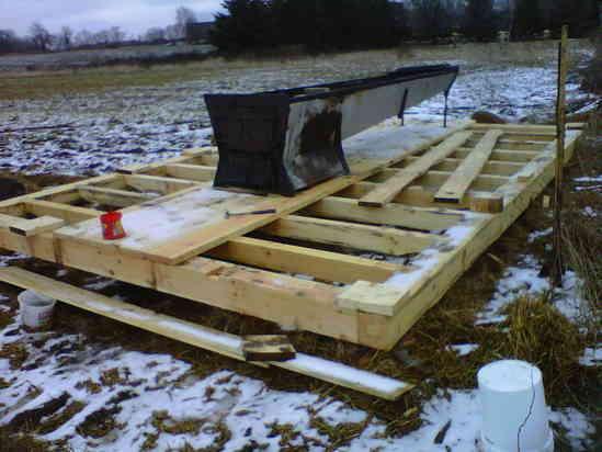 TF Sugar Shack in Timber Framing/Log construction