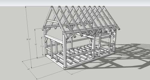 Cabin with loft 16 x 24 joy studio design gallery best for 20 x 32 cabin with loft