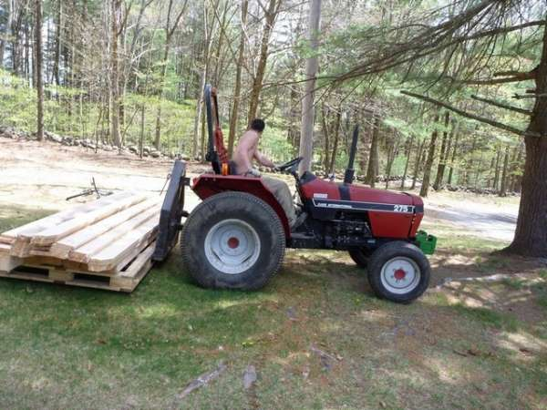 3 Point Hitch Forks : Homemade point hitch pallet forks ftempo