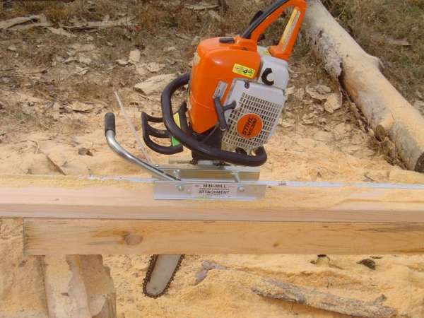 Chainsaw mills and timber frames in Timber Framing/Log construction