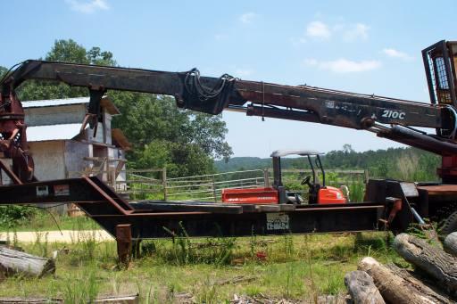 Prentice 210 C cylinder rebuild in Forestry and Logging