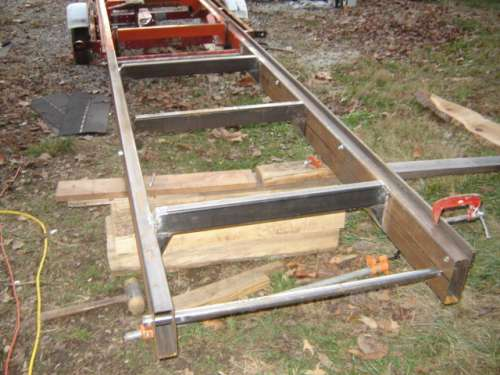 Making a bed extension in Sawmills and Milling