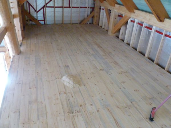 Linseed Oil Tung Oil Floor Finish In General Woodworking