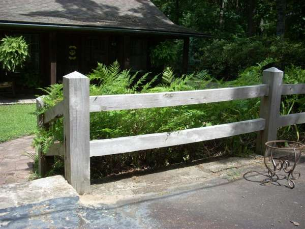 White Split Rail Fence It Be Would Sawed Fencing And Used A Circle Hand Sawchisel Large Bits Throughout Decorating