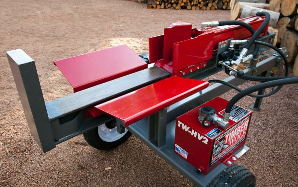 Timber Wolf Splitter In Firewood And Wood Heating