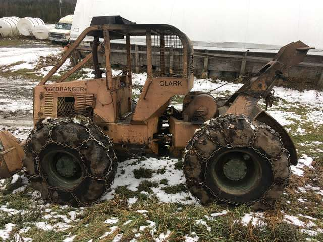 New to me Clark skidder in Forestry and Logging